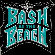 WCW Bash At The beach, pwani 1999 Logo