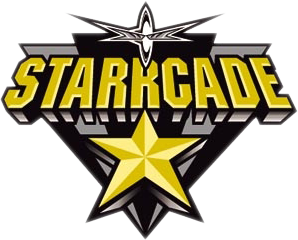 World Championship Wrestling Hintergrund probably containing Anime titled WCW Starrcade 1999 PPV Logo