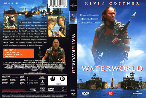 Waterworld Hintergrund possibly containing Anime called Waterworld French DVD Cover