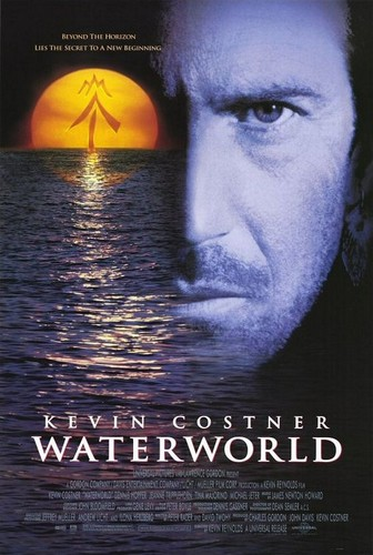 Waterworld fond d'écran with a sign entitled Waterworld Official Poster