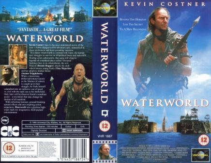 Waterworld wallpaper called Waterworld UK VHS Cover