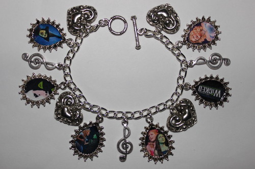Wicked the Broadway Musical Charm Bracelet