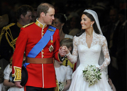 Wills & Kate On Their Wedding 日