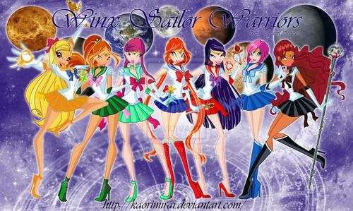 Winx as Senshi