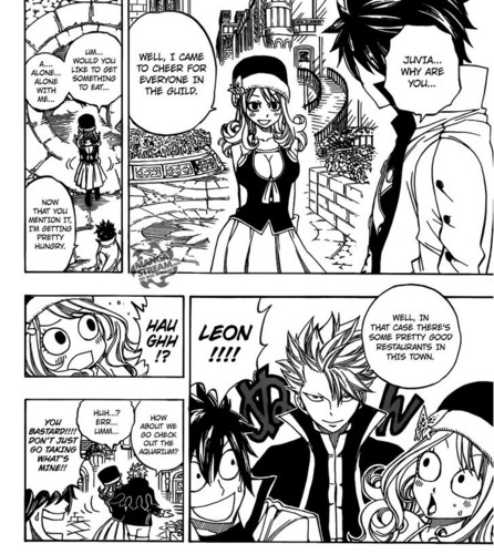 "Yeah After Jerza, now is Gruvia! ""Don't just go taking what's mine!"" ♥"