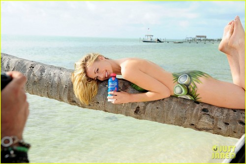 Yvonne Strahovski: Nearly Nude for SoBe Lifewater!