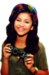 Zendaya swag it out png - shake-it-up icon