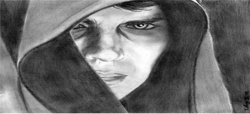 anakin skywalker drawing