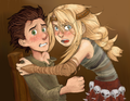 by tobuishi - hiccup-and-astrid fan art