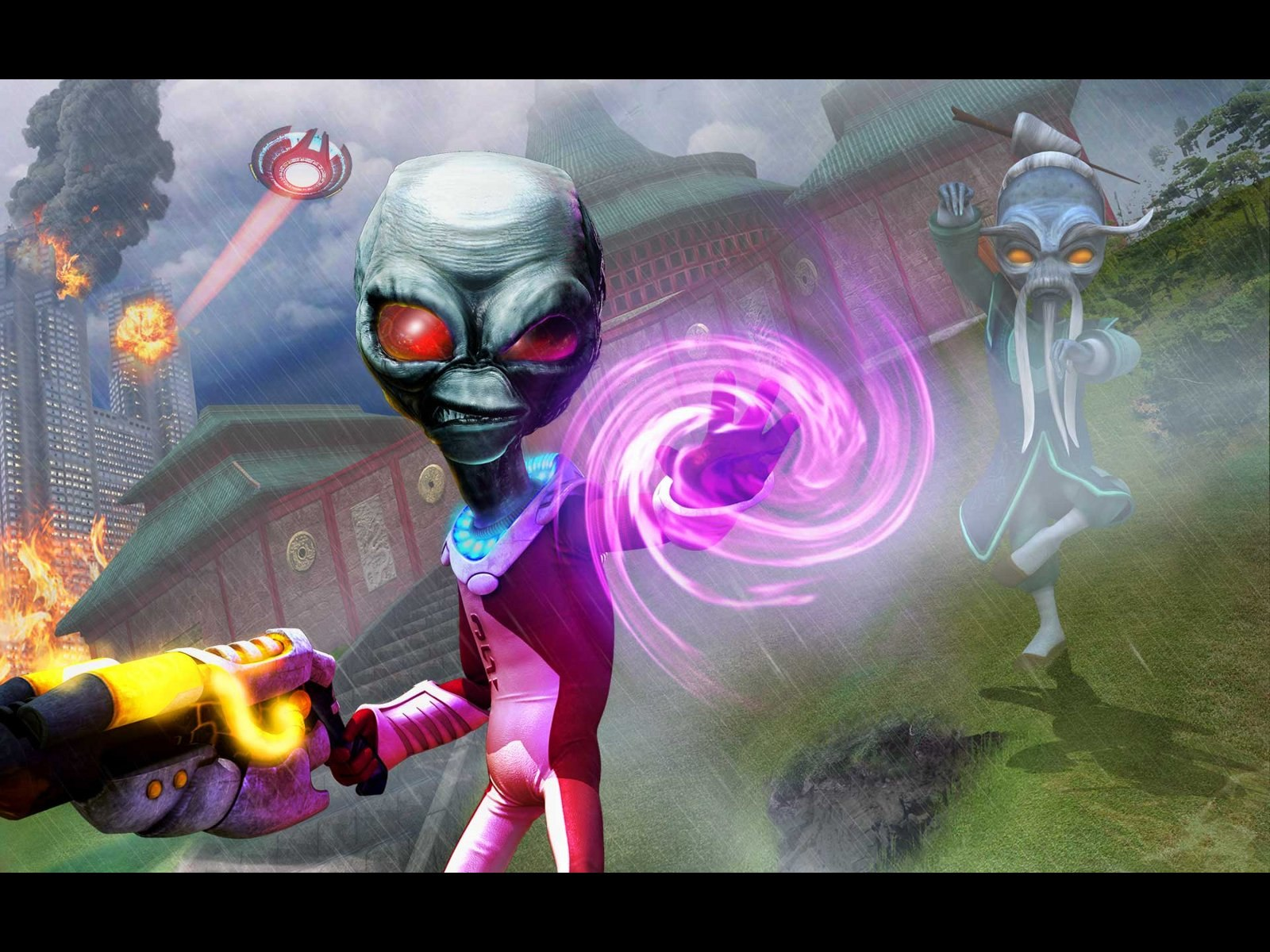 Destroy All Humans images furon HD wallpaper and ...