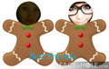 gingerbread buddies :P - friends-xoxo fan art