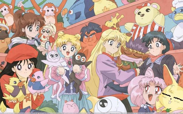 Девочки сериал Винкс клуб вырос из Аниме!