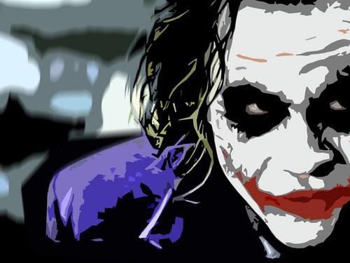 দ্যা জোকার দেওয়ালপত্র called joker