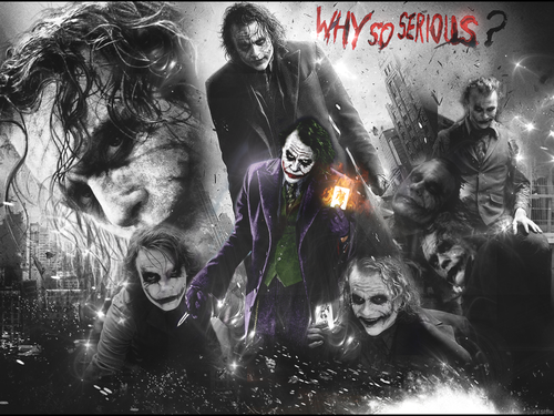 The Joker wallpaper containing anime called joker