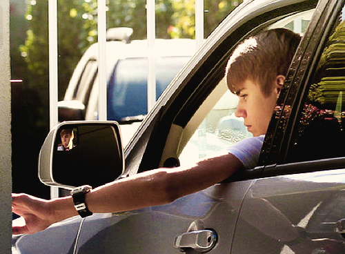 justin, car