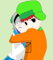 leave Jin alone Cartman! - yuki-and-her-friends photo