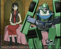 lori and six-speed - transformers-cybertron screencap