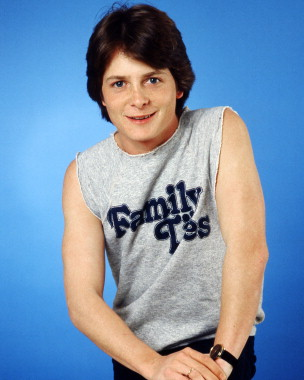 Michael J Fox wallpaper with a jersey entitled michael