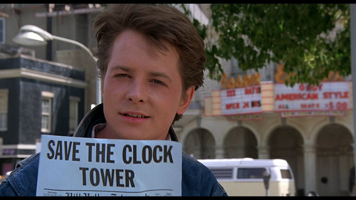 Michael J Fox wallpaper probably containing a street titled michael
