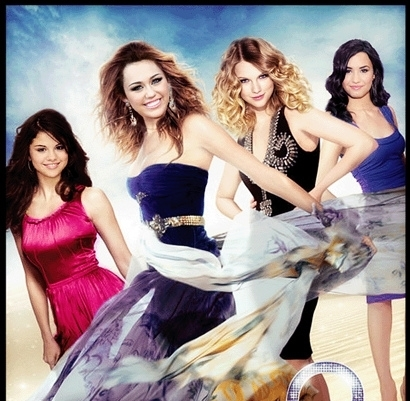 miley cyrus, taylor swift, demi lovato and selena gomez - fifirose ...