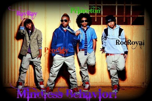 Roc Royal (Mindless Behavior) wallpaper probably containing long trousers, an outerwear, and a bathrobe called roc royal
