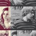 ron + hermione