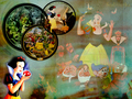 snow white stories collage
