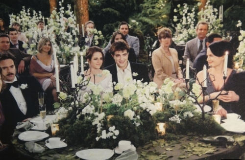 The Cullens वॉलपेपर possibly with a bouquet entitled the cullens