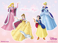 disney-princess - winter magic wallpaper