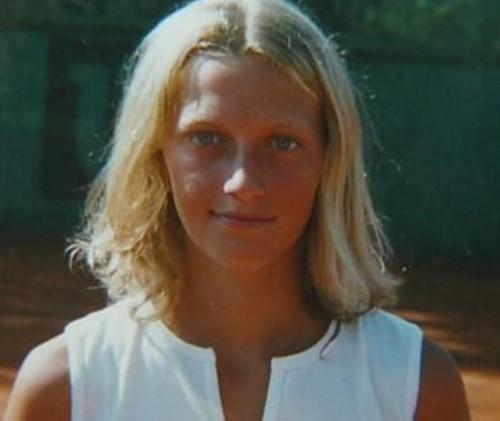 young Kvitova..
