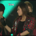yuri SNSD - 2011 SBS Gayo Daejun Screen - yuri-black-pearl screencap