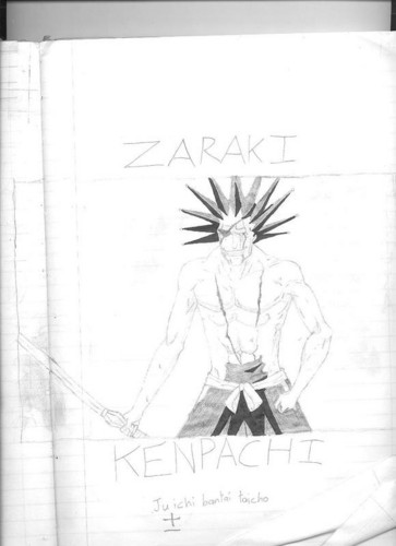 zaraki drawing