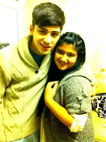 zayn wif one of his qul cousin ! :)