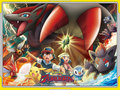 zoroark: master of illusions - legendary-pokemon wallpaper