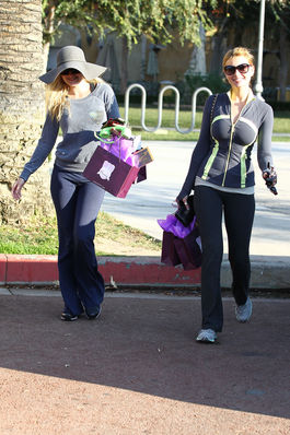 [January 7th] Out Shopping with Aj at Calabasas Commons