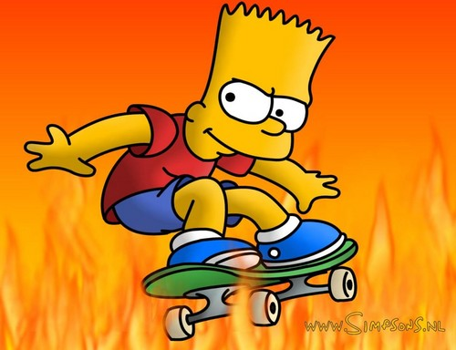"""sshannahmontana wallpaper containing anime titled """"Simpsons* & """"All in one"""