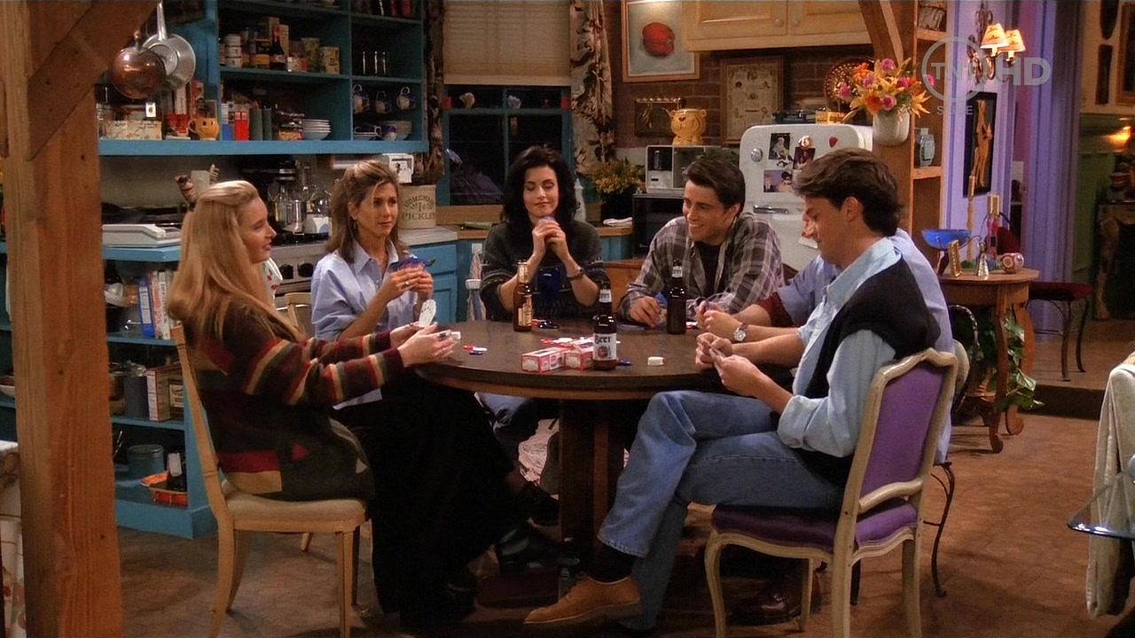 1x18 The One With All The Poker Friends Image