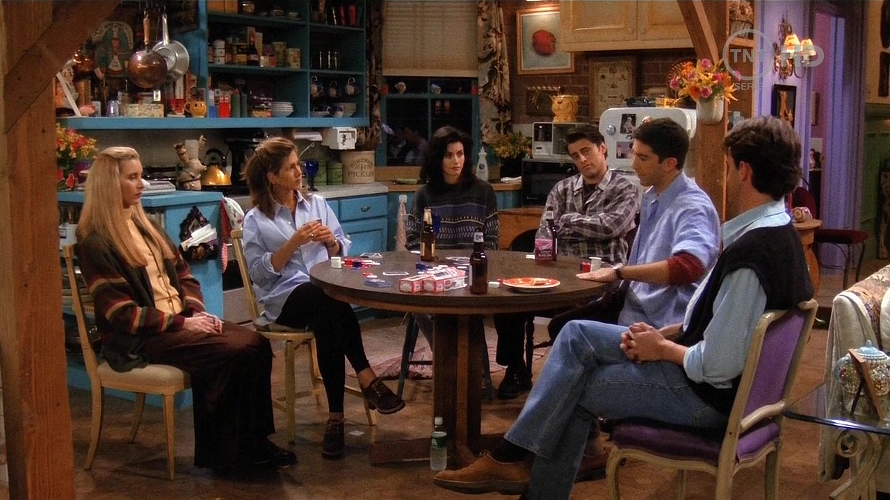 The One With All The Poker – Ross Loves Rachel | Test The