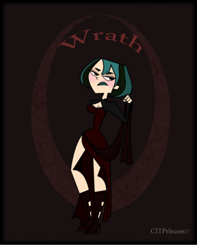 Total Drama Island Hintergrund called 7 deadly sins Gwen