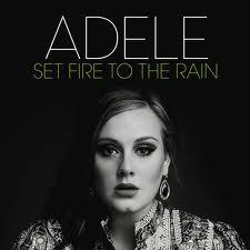 Адель Set огонь To The Rain Cover