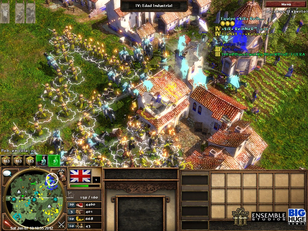 Combates aereos history channel. empire at war vollversion. Age of Empires 3 - e