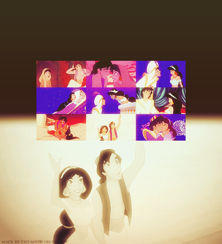 Aladdin & Jasmine ~ ♥ - disney-princess Photo