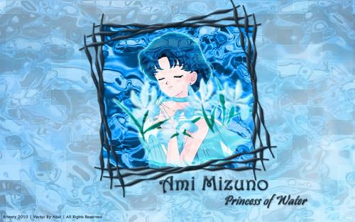 Sailor Mercury Hintergrund called Amy