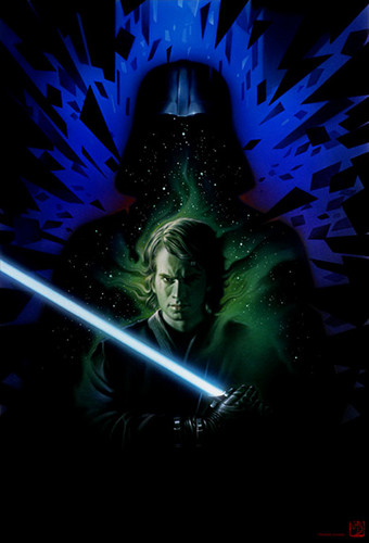 anakin skywalker wallpaper called Anakin/Vader Art
