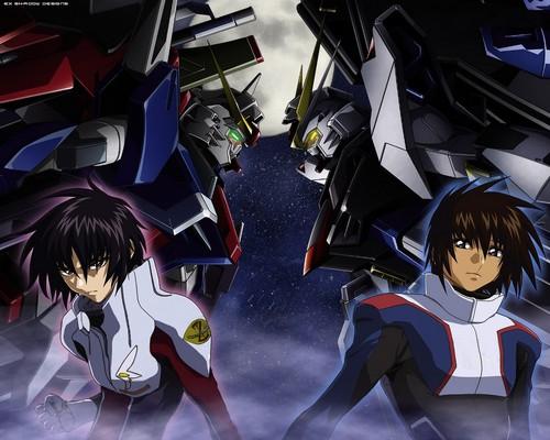 anime Guys achtergrond