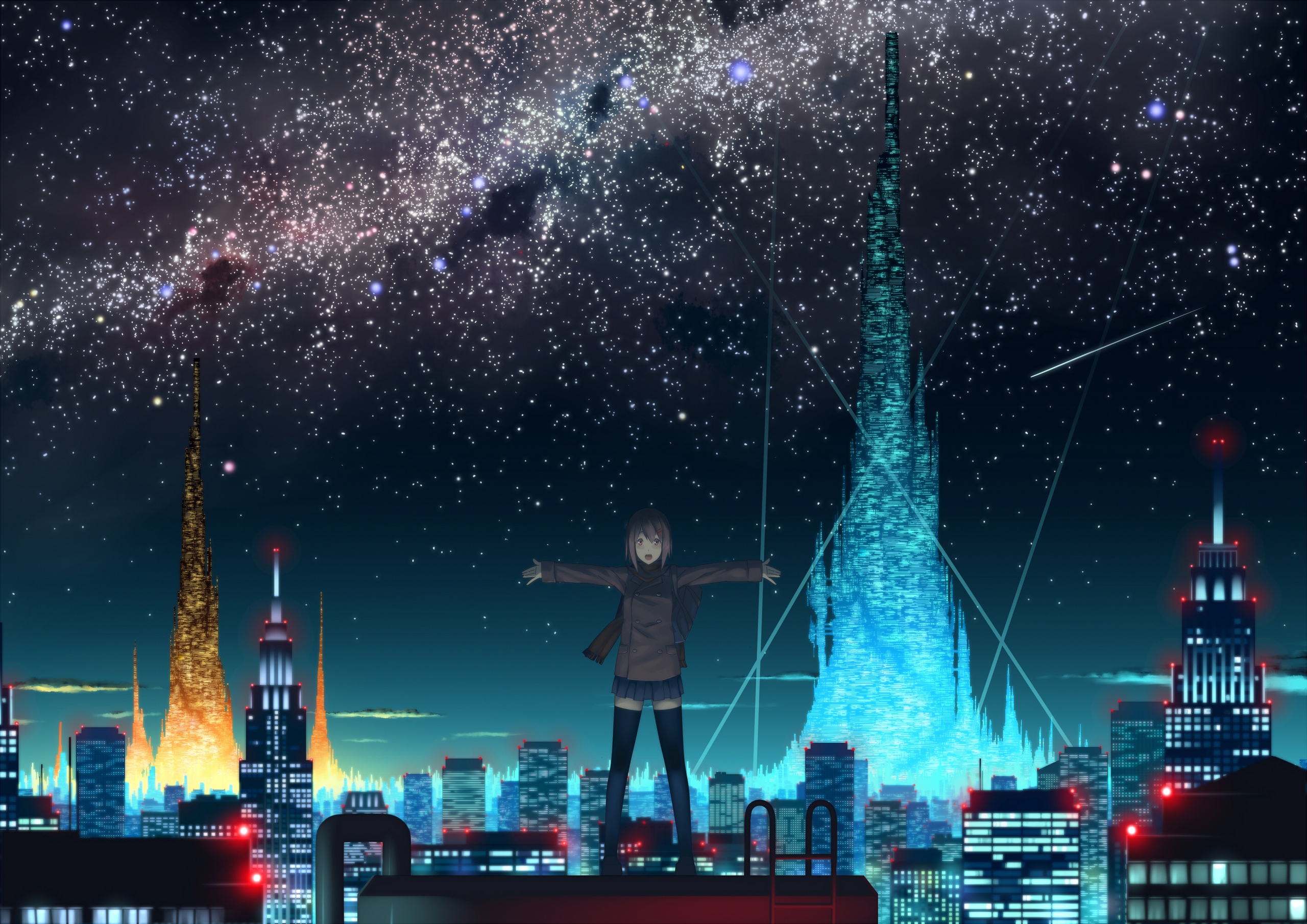 Anime Scenery - Anime Photo (28137818) - Fanpop