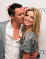 Jonathan Rhys Meyers and Annabelle Wallis