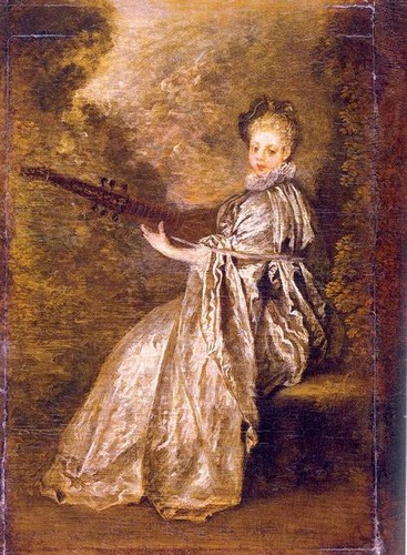 Fine Art Hintergrund called Antoine Watteau