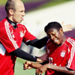 Arjen and David.  - fc-bayern-munich icon