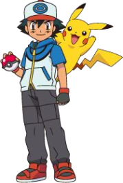 Pokémon karatasi la kupamba ukuta probably containing anime called Ash & Pikachu